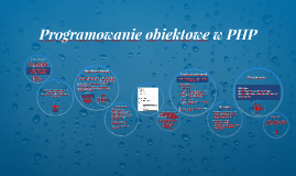 Obiekty PHP