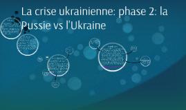 le conflit ukrainien 2