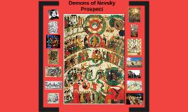 Demons of Nevsky Prospect