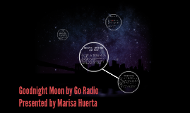 Goodnight Moon by Go Radio