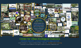 Copy of Center for Urban Ecological Dialectics (CUED)