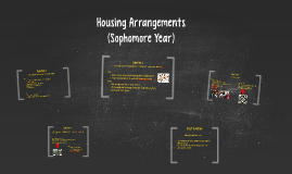 Housing Arrangements