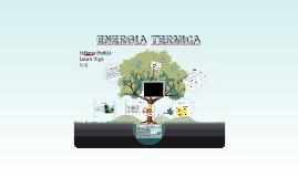 Copy of ENERGIA TERMICA