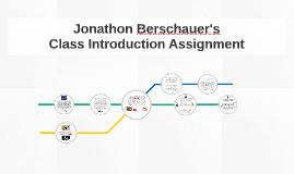 Jonathon Berschauer's