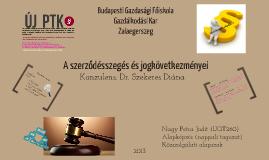 A szerződésszegés és jogkövetkezményei