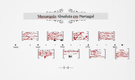 Monarquia Absoluta em Portugal