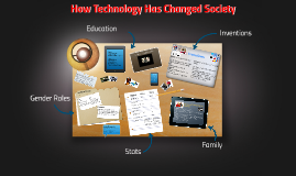 How Technology Has Changed Society