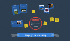 Engage in the Learning