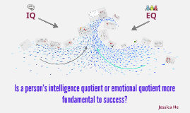 Is a person's intelligence quotient or emotional quotient mo