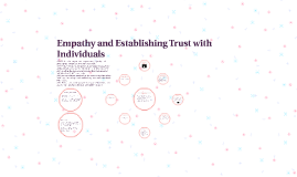 Empathy and Establishing Trust with Individuals