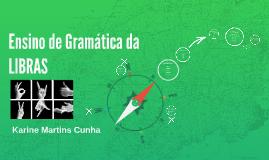 Copy of Ensino de Gramática da LIBRAS