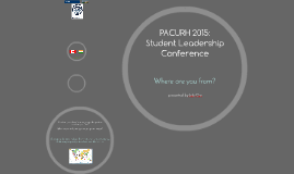 PACURH 2015: Student Leadership Conference