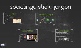 sociolinguïstiek: jargon