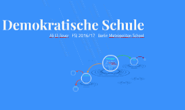 Copy of Demokratische Schule