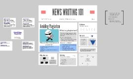 NEWS WRITING 101