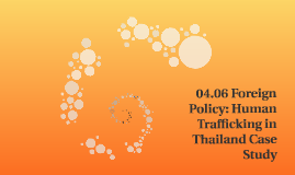 04.06 Foreign Policy: Human Trafficking in Thailand Case Stu