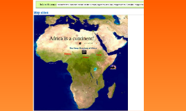 African Deep Structure and other Characteristics