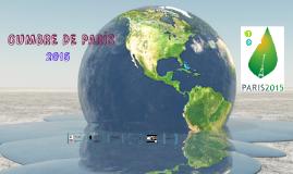 CUMBRE DE PARÍS 2015