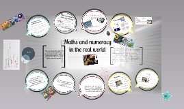 Maths and Numeracy in the Real world