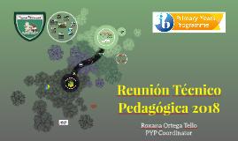 Reunión Técnico Pedagógica 2018