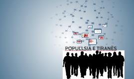 POPULLSIA E TIRANËS