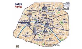 Parcours par Paris