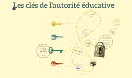 Les clés de l'autorité éducative