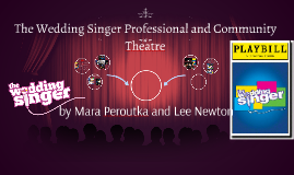 The Wedding Singer Professional and Community Theatre