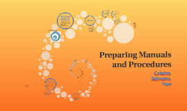 Preparing Manuals and Procedures