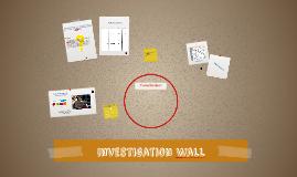 Investigation Wall
