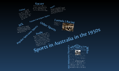 Copy of Sports In Australia In the 1950