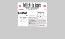 Public Media Debate