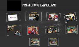 MINISTERIO DE EVANGELISMO
