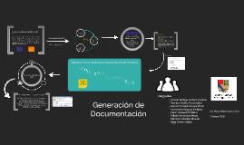 Generación de Documentación