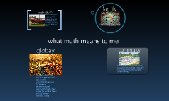 what math means to me