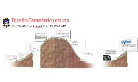 Diseño Geometrico en via