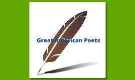 Great American Poets