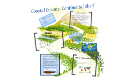 Coastal Oceans-Continental Shelf