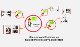 Copy of Cómo se complementan las evaluaciones de aula y a gran escal