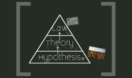 theory vs hypothesis vs law