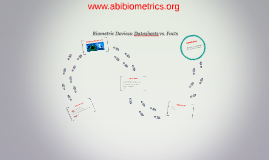 Biometry: data sheets vs. facts