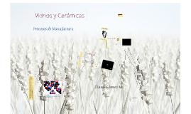 Copy of Vidrios y Cerámicas