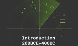 Introduction 200BCE-400BC