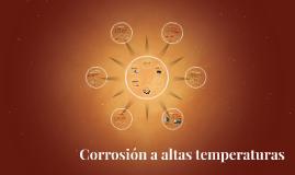 Copy of Corrosión a altas temperaturas