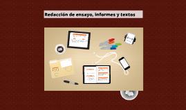 Redacción de textos y ensayos