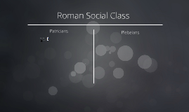 Roman Social Class