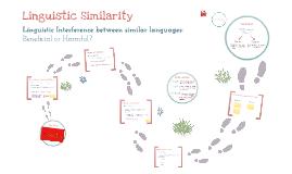 Linguistic Similarity