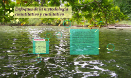 Enfoques de la metodologia cuantitativo y cualitativo