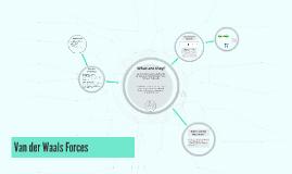 Van der Waals Forces