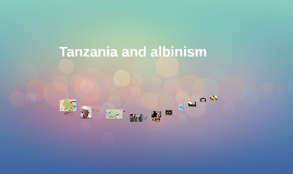 Tanzania and albinism